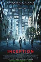Inception Movie Poster Leonardo Dicaprio Original Ds 27x40 Final Style