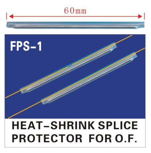 1000pcs φ2.5 Fiber Optic Fusion Splice Protective Shrink Sleeves 60mm Popular