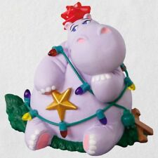 Hallmark 2018 I Want a Hippopotamus for Christmas Ornament