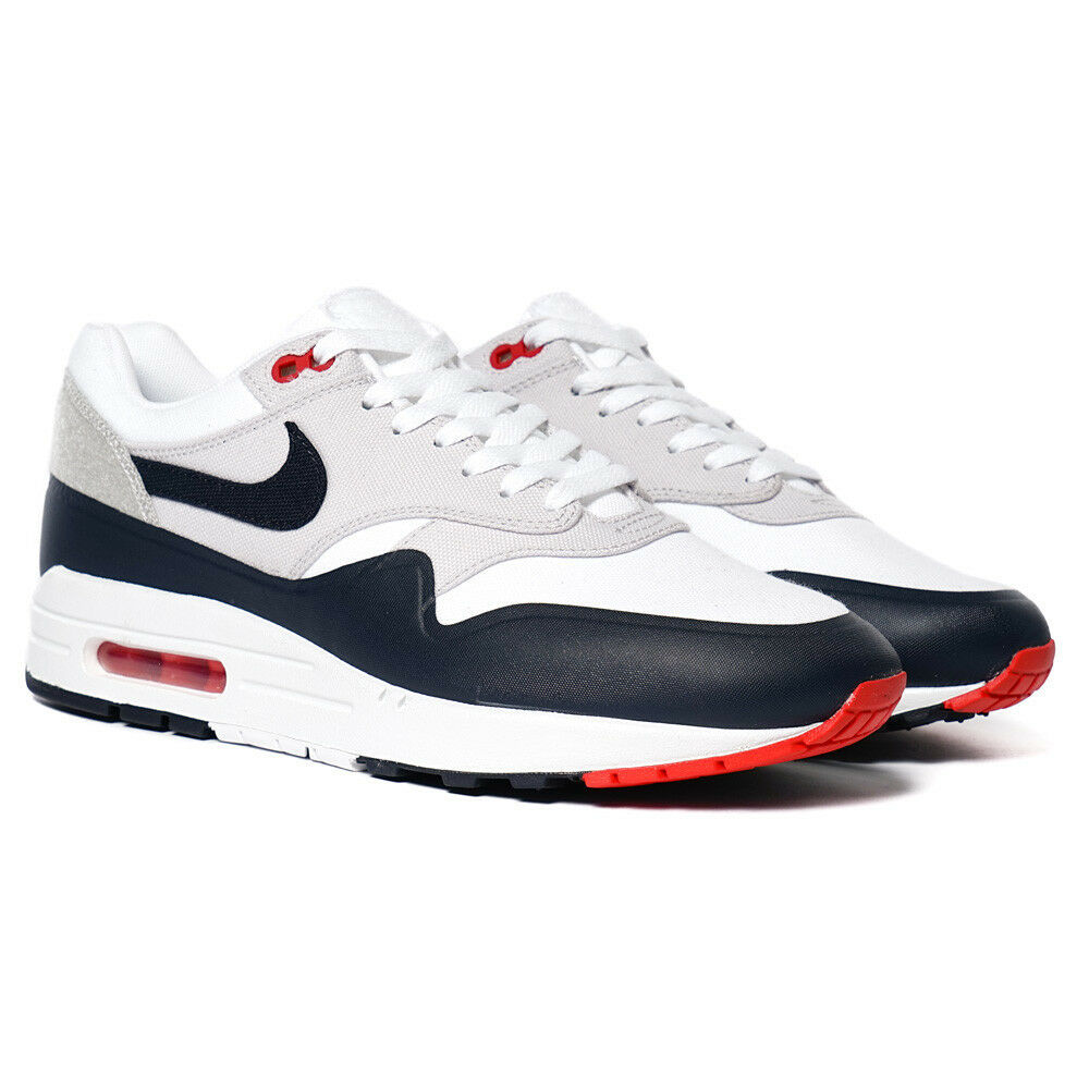 Nike Air Max 1 V SP Patch Nikelab White 20th Anniversary Supreme Retro USA 8 New shoes for men and women, limited time discount