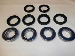 1997 1998 1999 Yamaha YFM400 400 Kodiak Front Wheel Bearings And Seals X2
