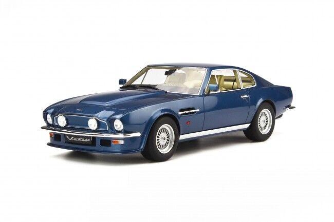 GT Spirit 744 Aston Martin V8 Vantage V580 X th Azul Coche Modelo de Resina de Paquete
