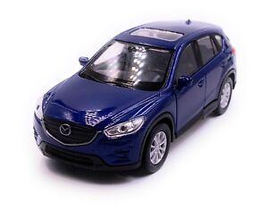 Mazda-CX-5-Coche-a-Escala-Auto-Azul-Escala-1-3-4-con-Licencia