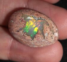20.5 ct Precious Mexican Jelly Opal in Rhyolite Cabochon - Jalisco Mexico