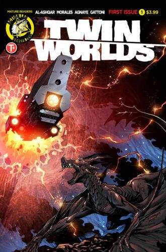 Action Lab Rami Al-ashqar W Jethro Morales NM 2020 A Twin Worlds #1,