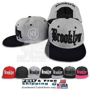 947a8a228ec49 Image is loading Brooklyn-Snapback-NY-Baseball-Adjustable-Hats-Hip-Hop-