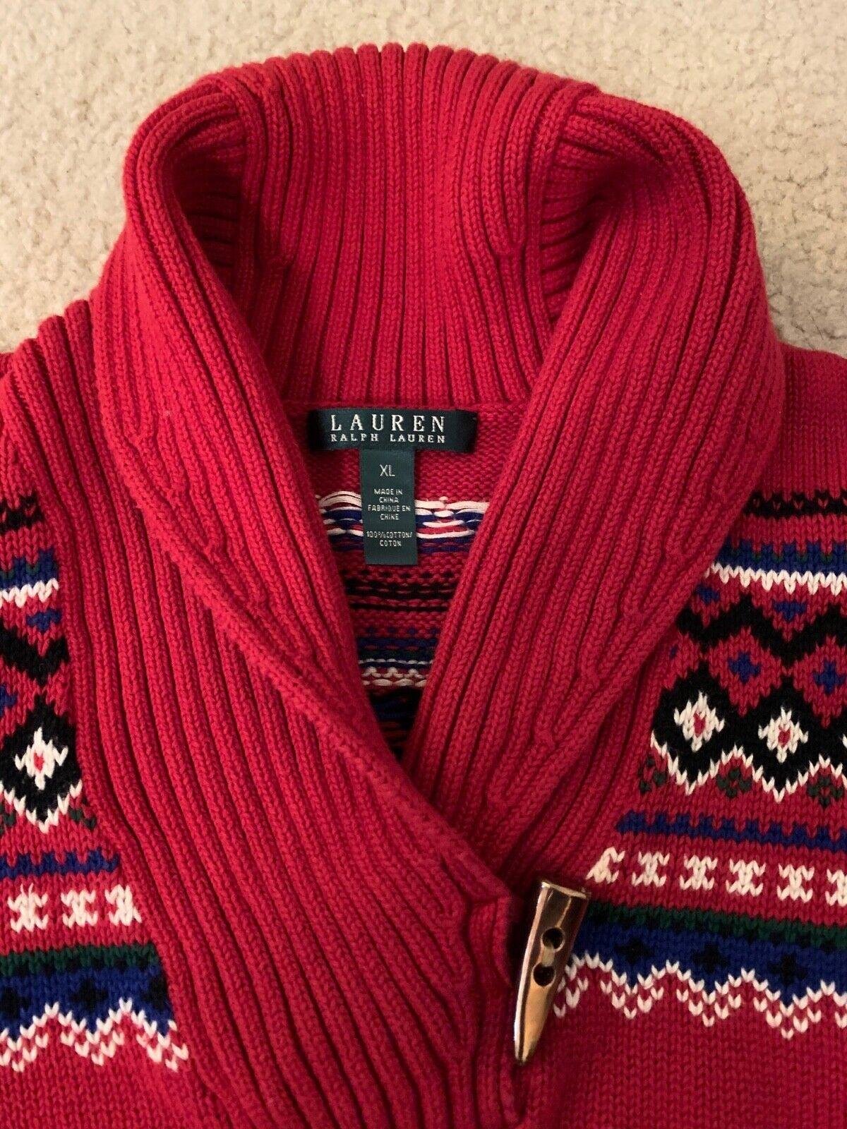 Lauren Ralph Lauren Classic Red Sweater - image 2