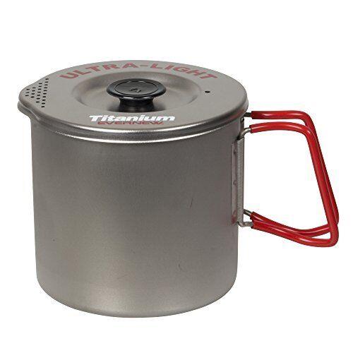 EVERnouveau Titanium Pasta Cooker Pot M rouge ECA522R