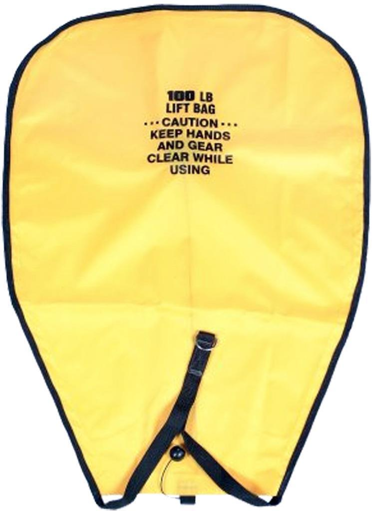New 50lb. or 100lb. capacity scuba diving lift bag Made in USA Free ship