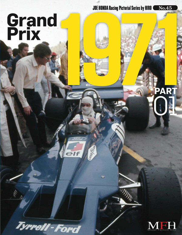 1971 Grand Prix Season Model Factory Hiro Photo reference book Japanese Text