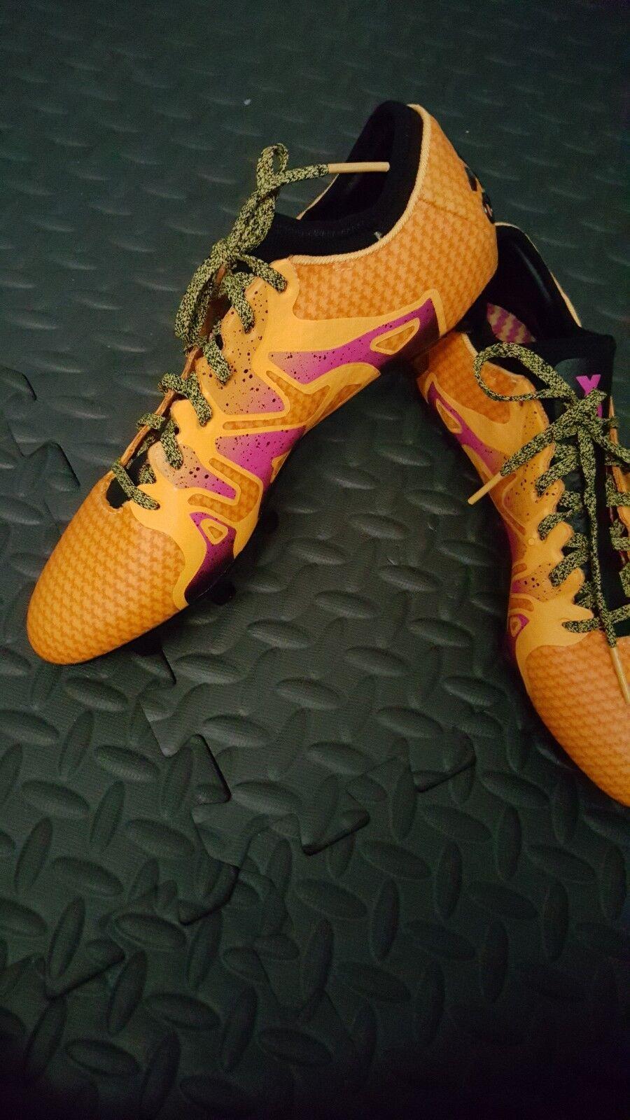New Mens Fg/Ag adidas X 15+ Primeknit Fg/Ag Mens Orange Size 6.5 US 19e20a