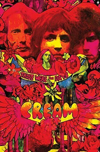 """CREAM """"THOSE WERE THE DAYS (REPACKAGED 4CD)"""" 4 CD NEW!"""