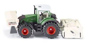 Siku-3541-Tractor-FENDT-con-accesorios-para-carretera-Escala-1-32