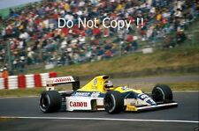THIERRY BOUTSEN Williams FW13 giapponese GRAND PRIX 1989 Fotografia