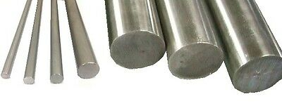 "-.043mm/"" 304 Stainless Steel Rod 10 mm Diameter x 18 Inch Length"