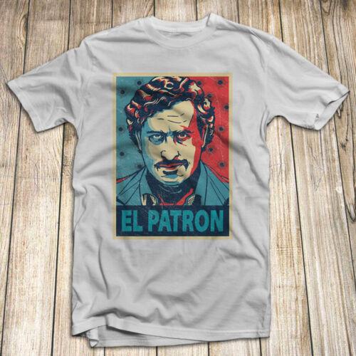 Narcos Pablo Escobar Men/'s T Shirt 100/% Cotton Size S-5XL Made In USA El Patron