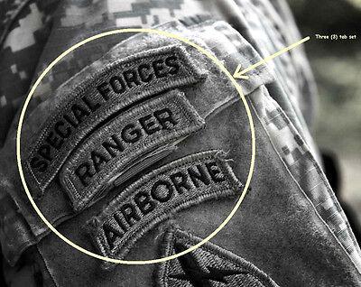 KANDAHAR-WHACKER JSOC 5th SPG RANGERS burdock TAB: SPECIAL FORCES + RANGER + ABN