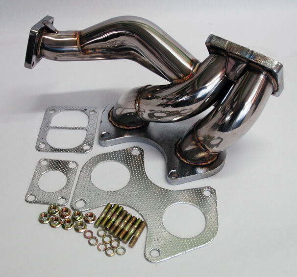 Mazda RX7 93-95 FD T4 Flange Stainless Steel Turbo Manifold 13B