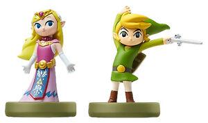Nintendo amiibo the legend of zelda th anniv wind waker toon