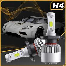 CREE H4 9003 HB2 200W 20000LM LED Headlight Kit White Light Bulbs High low Beam