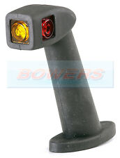 RUBBOLITE 841 RED WHITE AMBER LED END OUTLINE STALK MARKER LAMP LIGHT RIGHT HAND