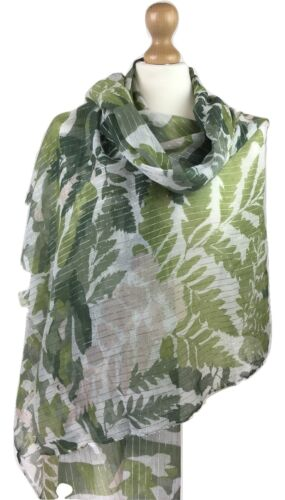 New Womens Scarf Leaf  Ladies Large Floral  Pashimna Women Evening Wrap Snood