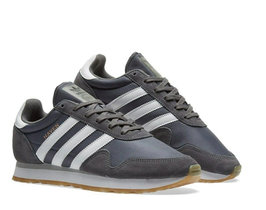 Adidas Originals Haven Grey Mens Lifestyle New Limited classic shoes rare BY9715