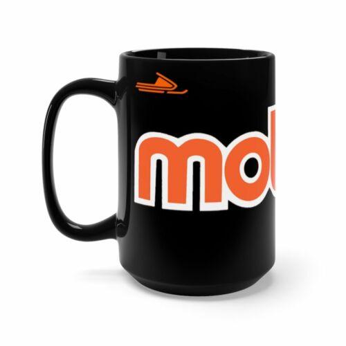 Moto-Ski Black Mug 15oz