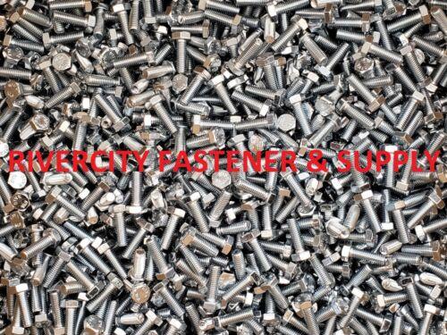 Bolts 6mm x 18mm M6-1.0x18 Steel Hex Head Cap Screws 10 M6x1.0