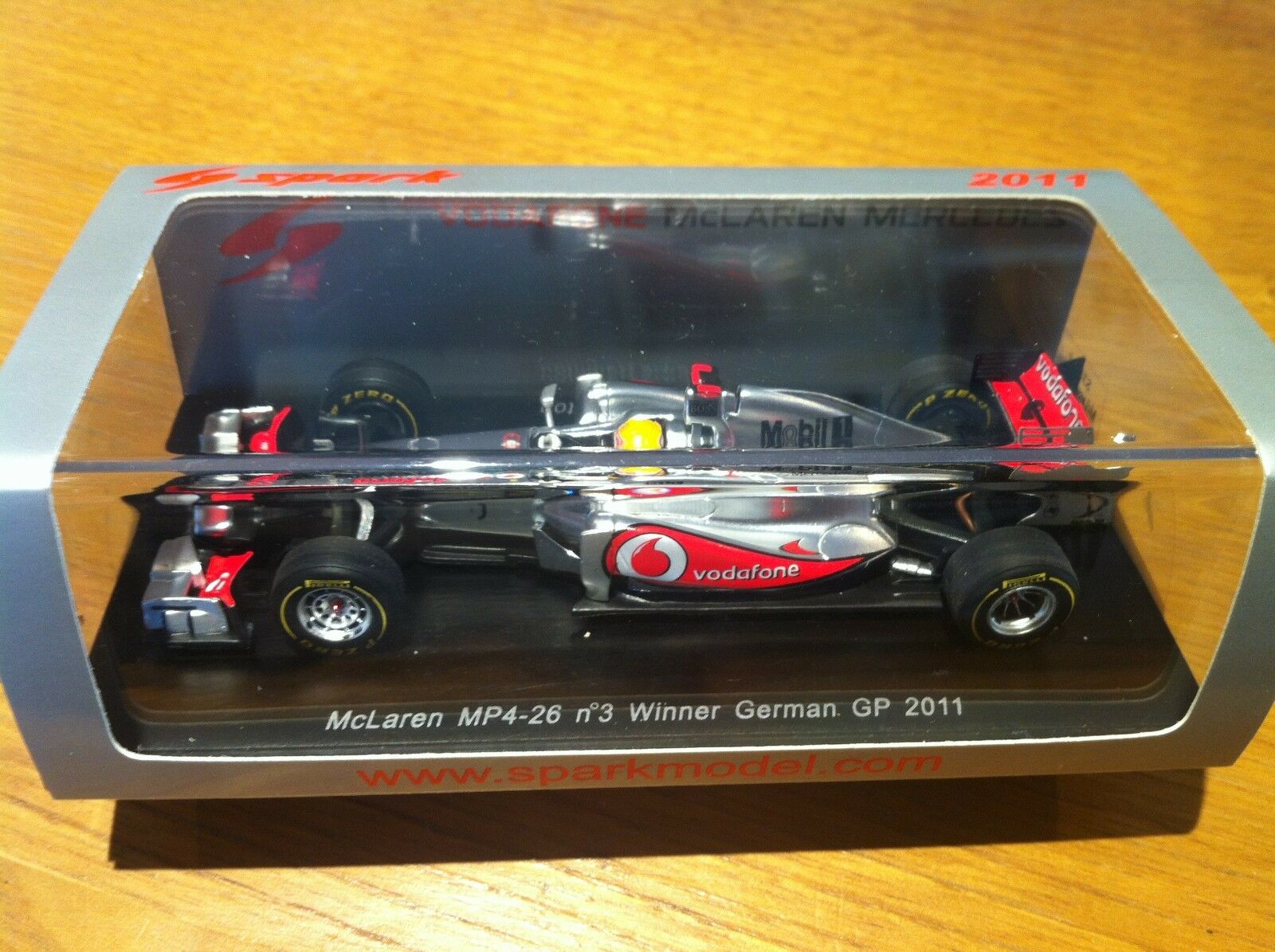 Spark Mc Laren (McLaren) MP4-26 Hamilton Allemagne German GP 1 43 S3030