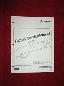 Crosman 1377 parts manual free from crosman