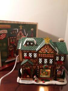 Lemax Caddingyon Village Tudor Style House