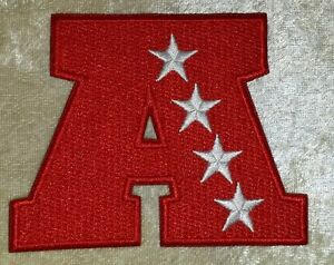 """American Football Conference AFC 3.5"""" Embroidered Patch ~US Seller~FREE Ship"""