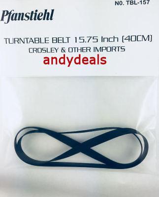 Turntable Belt for BSR Q550SX T-15T  TD-8Q-T-15T  TD-8Q-W Turntable 15.2 Quanta