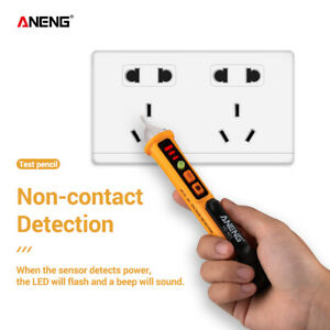 Voltage-Tester-Pen-12-1000V-Non-Contact-Volt-Alert-Sensor-Detector-Stick-WR