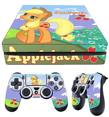 Faceplates, Decals & Stickers Video Game Accessories 2 Pad Vinilos Laid Strengthening Sinews And Bones Ps4 Fino Piel Applejack Solo My Little Pony Ponis Pegatina