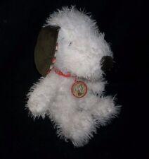 "12"" 2014 HALLMARK SNOOPY HAPPINESS WARM PUPPY POLKA DOT STUFFED ANIMAL PLUSH TOY"