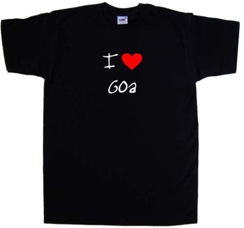 I Love Heart Goa T-Shirt