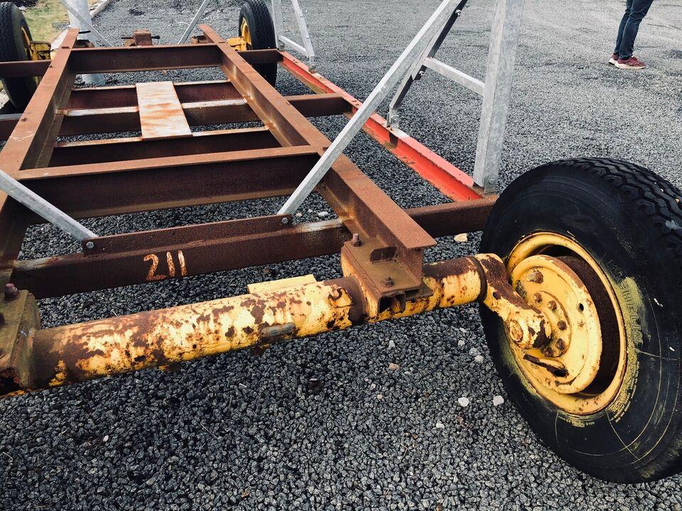 Bådvogn..  198 cm i bredden 500 cm længde 300 c...