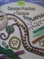 Consejos Prácticos Y Técnicas Beading Craft Book Instruction Tips Techniques