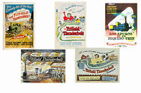 THE TITFIELD THUNDERBOLT - SET OF 5 - A4 FILM POSTER PRINTS # 1