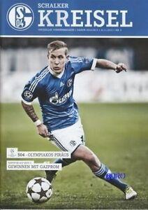 Schalker-Kreisel-21-11-2012-FC-Schalke-04-vs-Olympiakos-Piraeus-Programm