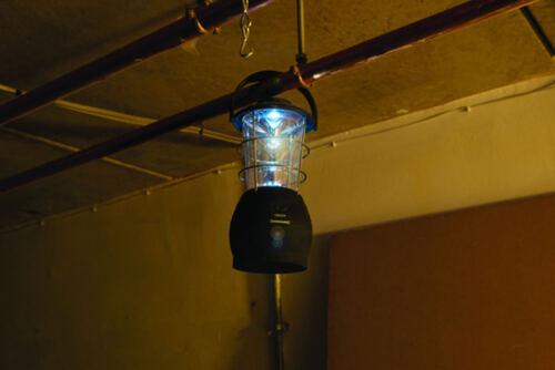 DEL lanterne tente Silverline 961669 Extérieur Camping Lampe éclairage