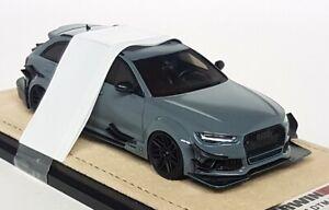 GLM-1-43-Scale-Audi-RS6-DTM-Replica-2017-Nardo-Grey-Resin-Model-Car