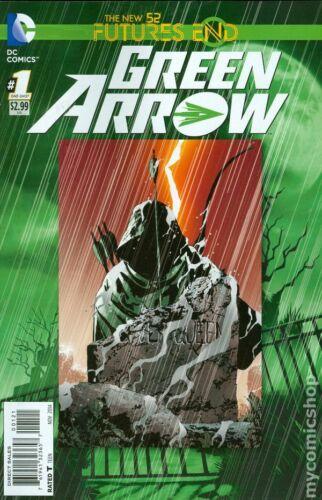 Green Arrow Future/'s End 1B Sorrentino Variant VF 2014 Stock Image