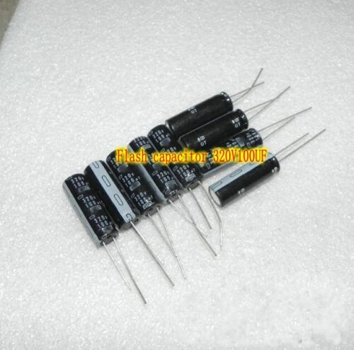 320V100UF Camera flash capacitor HiFi Capacitors Electronic Components