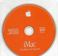 CD   Apple    installation DE LOGICIELS     Imac DV  F691-2465-A