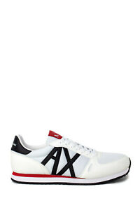 Sneakers-Uomo-ARMANI-EXCHANGE-micro-suede-tela-xux017-xv028
