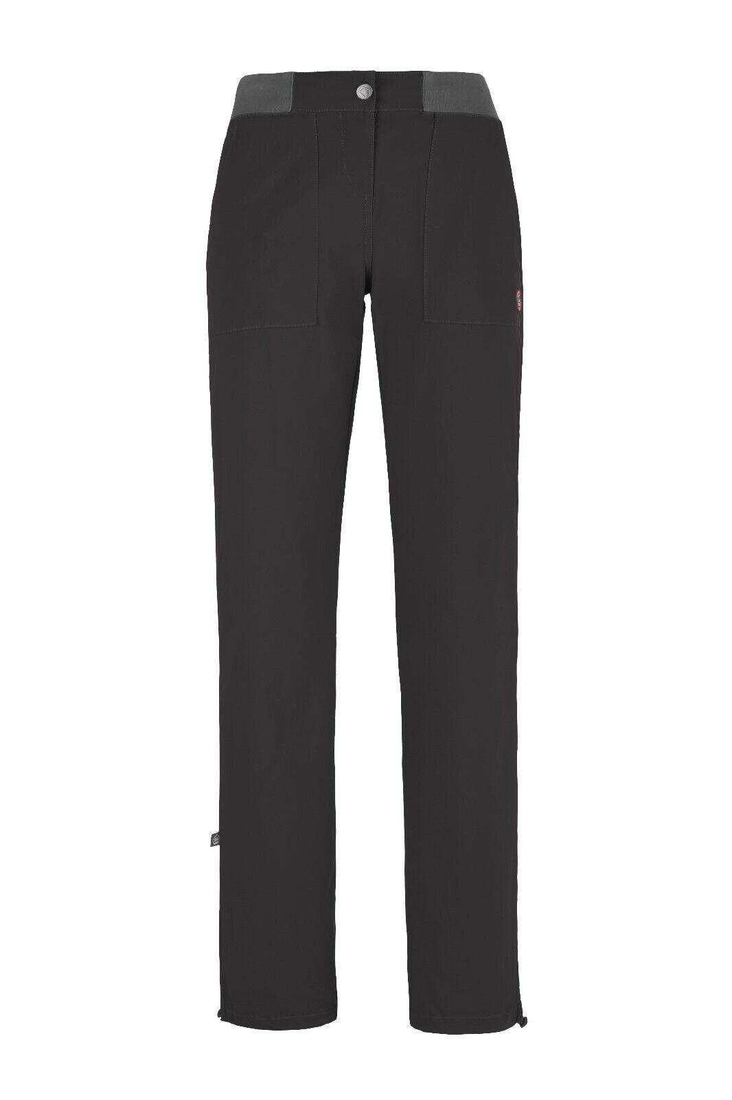 E9 Fiondina Elástico Pantalones Mujer Pantalones para Escalar Boulderhose Hierro