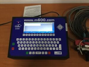WOLKE-m600-VIDEOJET-PRINT-CONTROLLER-With-Head-Cables-and-Encoder-VER-5-05